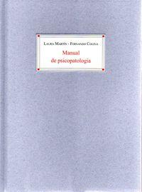 Libro MANUAL DE PSICOPATOLOGÍA