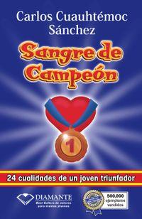 Libro SANGRE DE CAMPEÓN