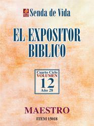 Libro EL EXPOSITOR BÍBLICO #12