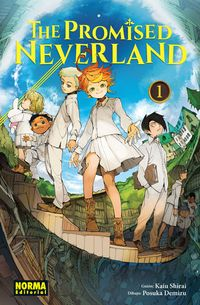 Libro GRACE FIELD HOUSE (THE PROMISED NEVERLAND #1)