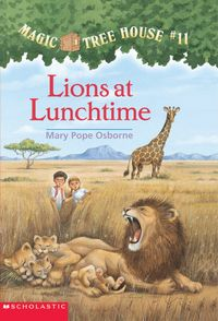 Libro LIONS AT LUNCHTIME (MAGIC TREE HOUSE #11)