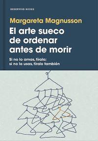 Libro EL ARTE SUECO DE ORDENAR ANTES DE MORIR