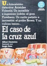 Libro EL CASO DE LA CRUZ AZUL