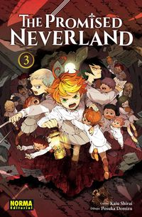 Libro THE PROMISED NEVERLAND 3