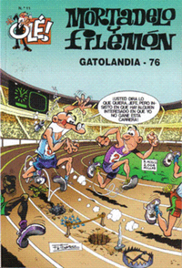 Libro MORTADELO Y FILEMON GATOLANDIA 76