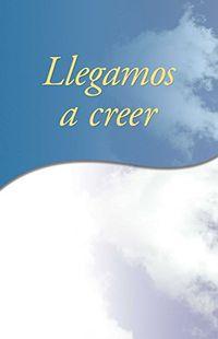 Libro LLEGAMOS A CREER