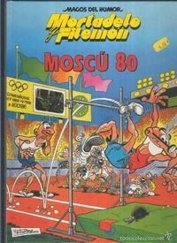Libro MORTADELO Y FILEMON: MOSCU 80