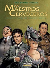 Libro LOS MAESTROS CERVECEROS #01