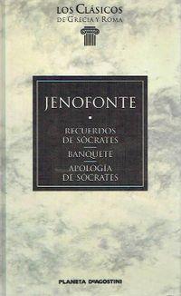 Libro RECUERDOS DE SOCRATES - BANQUETE - APOLOGÍA DE SÓCRATES