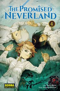 Libro THE PROMISED NEVERLAND 4