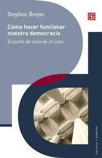 Libro CÓMO HACER FUNCIONAR NUESTRA DEMOCRACIA