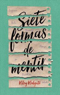 Libro SIETE FORMAS DE MENTIR