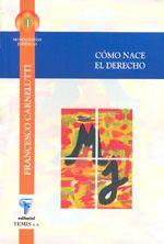Libro CÓMO NACE EL DERECHO