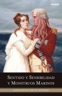 Libro SENTIDO Y SENSIBILIDAD Y MONSTRUOS MARINOS