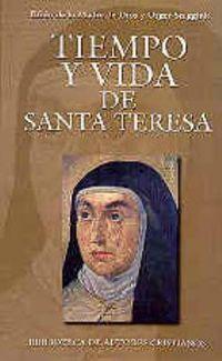 Libro TIEMPO Y VIDA DE SANTA TERESA
