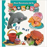 Libro MINI DICCIONARIO DE LOS BEBÉS EL MAR