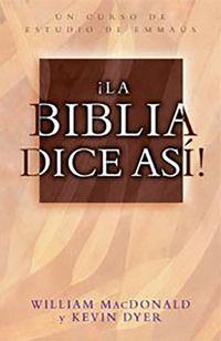 Libro ¡LA BIBLIA DICE ASÍ!