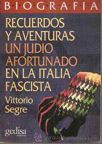 Libro UN JUDÍO AFORTUNADO: RECUERDOS Y AVENTURAS EN LA ITALIA FASCISTA