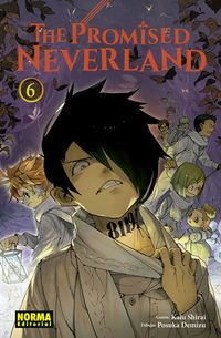 Libro THE PROMISED NEVERLAND #6