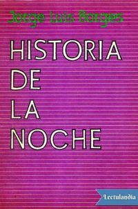 Libro HISTORIA DE LA NOCHE