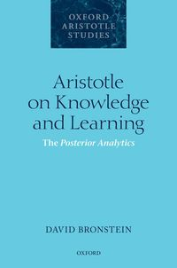 Libro ARISTOTLE ON KNOWLEDGE AND LEARNING