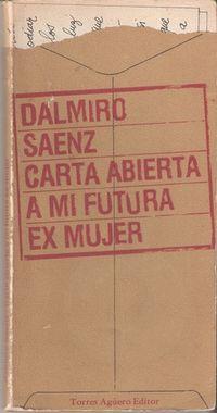 Libro CARTA ABIERTA A MI FUTURA EX MUJER