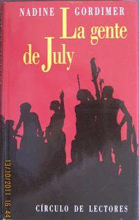 Libro LA GENTE DE JULY