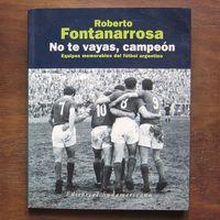 Libro NO TE VAYAS, CAMPEÓN