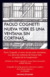 Libro NUEVA YORK ES UNA VENTANA SIN CORTINAS
