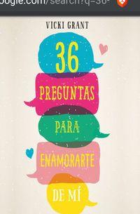 Libro 36 PREGUNTAS PARA ENAMORARTE DE MÍ (EDICIÓN MEXICANA)