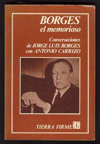 Libro BORGES, EL MEMORIOSO