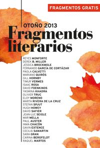 Libro FRAGMENTOS LITERARIOS OTOÑO 2013