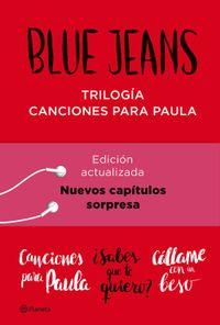 Libro TRILOGÍA CANCIONES PARA PAULA