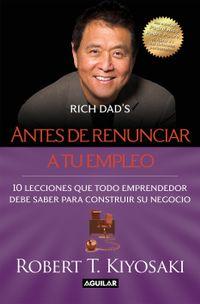 Libro ANTES DE RENUNCIAR A TU EMPLEO