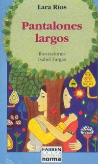 Libro PANTALONES LARGOS