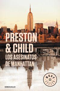 Libro LOS ASESINATOS DE MANHATTAN (INSPECTOR PENDERGAST #3)