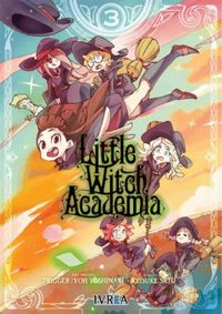 Libro LITTLE WITCH ACADEMIA #3