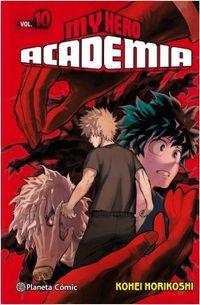 Libro MY HERO ACADEMIA #10