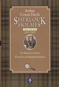 Libro SHERLOCK HOLMES (1917 - 1927)