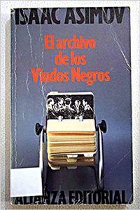Libro EL ARCHIVO DE LOS VIUDOS NEGROS