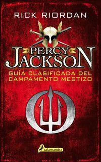 Libro PERCY JACKSON: GUÍA CLASIFICADA DEL CAMPAMENTO MESTIZO