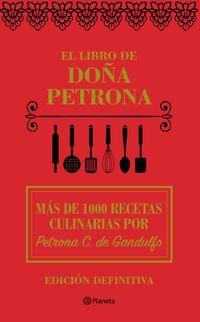 Libro EL LIBRO DE DOÑA PETRONA