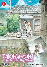 Libro TAKAGI SAN, EXPERTA EN BROMAS PESADAS #3