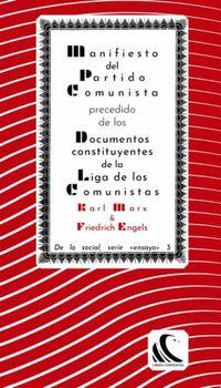 Libro MANIFIESTO DEL PARTIDO COMUNISTA