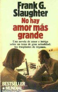 Libro NO HAY AMOR MAS GRANDE