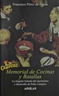 Libro MEMORIAL DE COCINAS Y BATALLAS