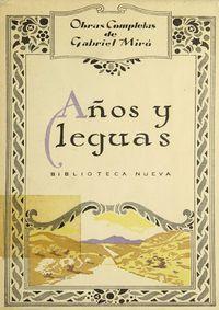 Libro AÑOS Y LEGUAS