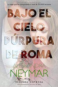 Libro BAJO EL CIELO PÚRPURA DE ROMA