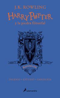 Libro HP Y LA PIEDRA FILOSOFAL-20 ANIV-RAVENCLAW: INGENIO · ESTUDIO · SABIDURÍA (HARRY POTTER)