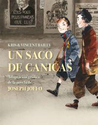 Libro UN SACO DE CANICAS (NOVELA GRÁFICA)